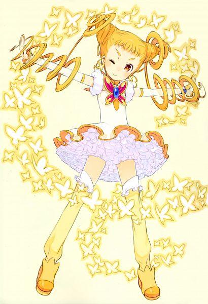 Tags: Anime, Kuroboshi Kouhaku, GRANADA LEVEL P, Kasugano Urara, Cure Lemonade, Scan, Fanart