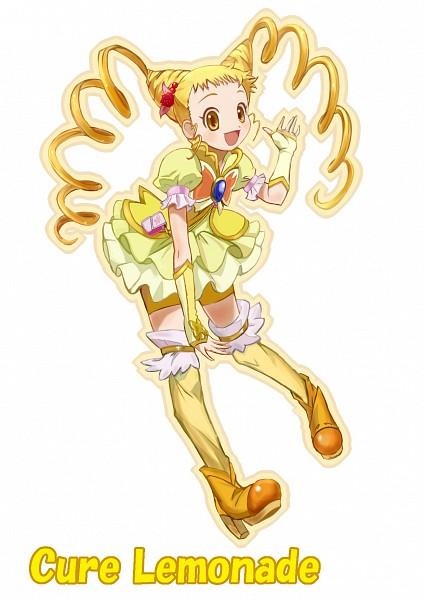 Tags: Anime, Pixiv Id 3975300, Yes! Precure 5, Cure Lemonade, Kasugano Urara, Pixiv, Fanart From Pixiv, Fanart