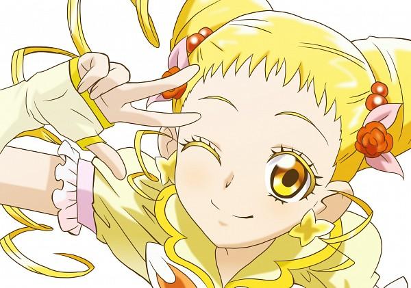 Tags: Anime, Pixiv Id 4588959, Yes! Precure 5, Kasugano Urara, Cure Lemonade, Fanart From Pixiv, Fanart, Pixiv