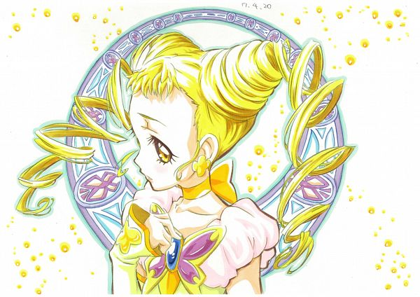 Tags: Anime, Pixiv Id 10389829, Yes! Precure 5, Kasugano Urara, Cure Lemonade, Pixiv, Fanart From Pixiv, Fanart