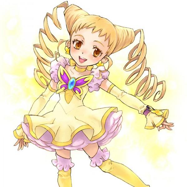Tags: Anime, Saikachi, Yes! Precure 5, Kasugano Urara, Cure Lemonade, Pixiv, Fanart From Pixiv, Fanart