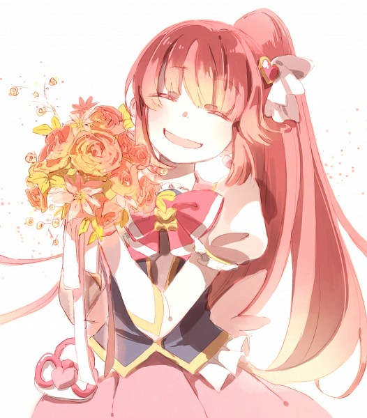 Tags: Anime, Pixiv Id 4566804, HappinessCharge Precure!, Aino Megumi, Cure Lovely, Pixiv, Fanart, Fanart From Pixiv