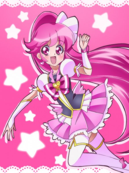 Tags: Anime, Shunciwi, HappinessCharge Precure!, Cure Lovely, Aino Megumi, Fanart From Pixiv, Pixiv, Fanart