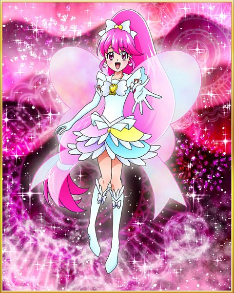 Tags: Anime, HappinessCharge Precure!, Precure Tsunagaru Puzzlun, Aino Megumi, Cure Lovely