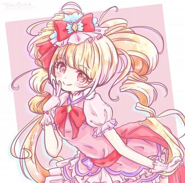 Tags: Anime, Pixiv Id 20400783, HUGtto! Precure, Aisaki Emiru, Cure MaChérie, Pixiv, Fanart, Fanart From Pixiv