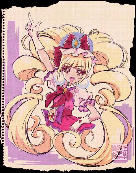 Tags: Anime, Kamikita Futago, HUGtto! Precure, Cure MaChérie, Aisaki Emiru, Twitter, Official Art