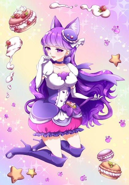 Tags: Anime, Pixiv Id 2024783, Kirakira☆Precure a la Mode, Cure Macaron, Kotozume Yukari, Pixiv, Fanart, Fanart From Pixiv