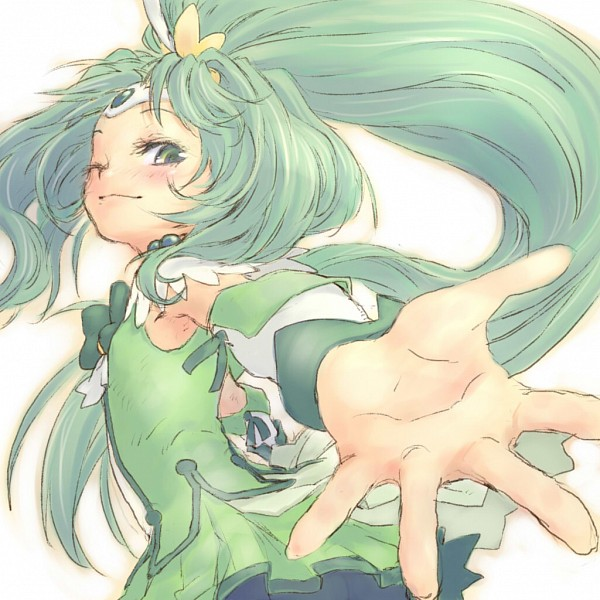 Tags: Anime, Pixiv Id 160170, Smile Precure!, Midorikawa Nao, Cure March, Pixiv, Fanart, Fanart From Pixiv