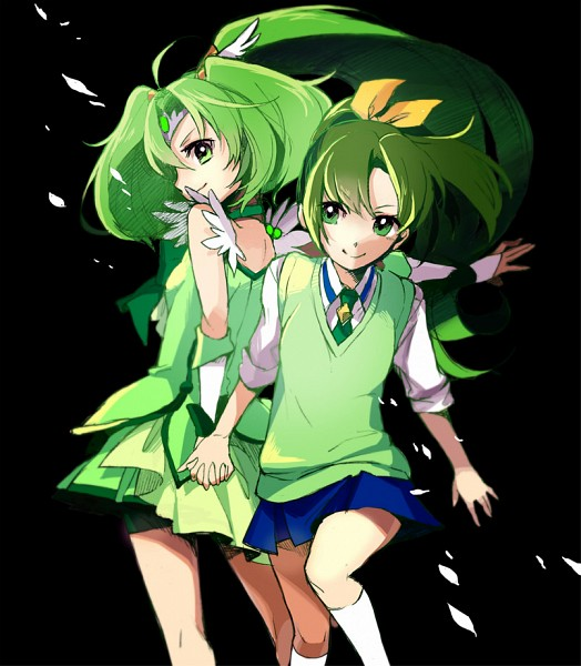 Tags: Anime, Cherico, Smile Precure!, Midorikawa Nao, Cure March, Fanart From Pixiv, Pixiv, Fanart