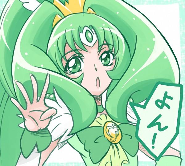 Tags: Anime, Arudebido, Smile Precure!, Midorikawa Nao, Cure March, Fanart From Pixiv, Pixiv, Fanart