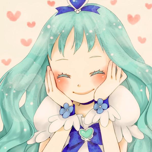 Tags: Anime, Mizutama Ko, Heartcatch Precure!, Cure Marine, Kurumi Erika, Pixiv, Fanart