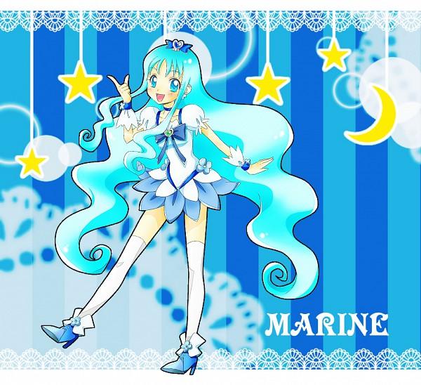 Tags: Anime, Kagamichihiro, Heartcatch Precure!, Kurumi Erika, Cure Marine, Pixiv, Fanart