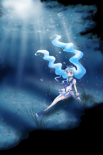 Tags: Anime, Pixiv Id 1608718, Heartcatch Precure!, Cure Marine, Kurumi Erika, Pixiv, Fanart From Pixiv, Fanart
