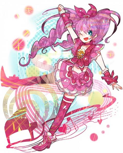 Tags: Anime, Ringetsumon, Suite Precure♪, Hojo Hibiki, Cure Melody, Pixiv, Fanart From Pixiv, Fanart