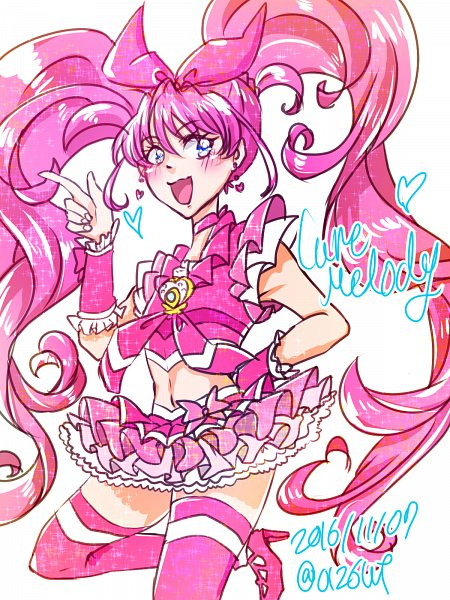 Tags: Anime, Pixiv Id 7964890, Suite Precure♪, Cure Melody, Hojo Hibiki, Pixiv, Fanart From Pixiv, Fanart