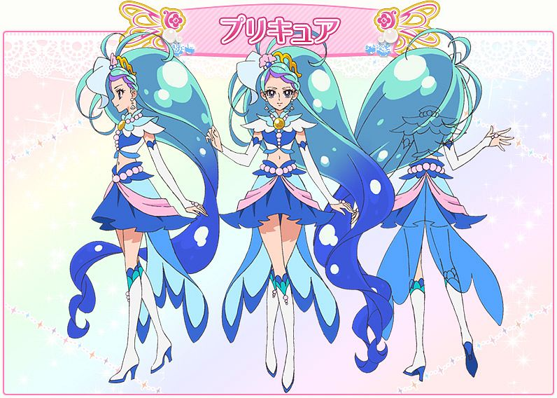 Cure Mermaid - Go! Princess Precure