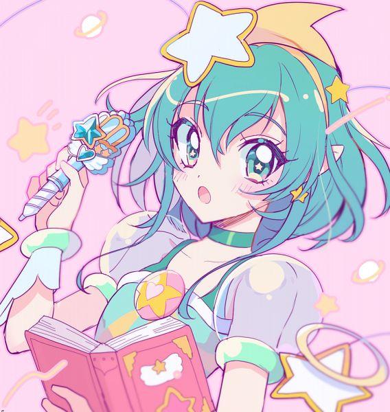 Tags: Anime, Pixiv Id 15814226, Star☆Twinkle Precure, Cure Milky, Hagorumo Lala, Fanart