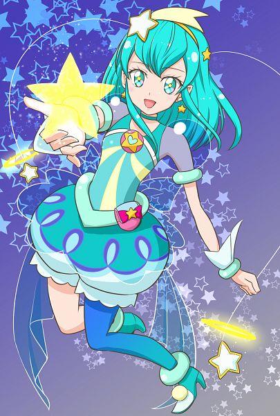 Tags: Anime, Pixiv Id 25328219, Star☆Twinkle Precure, Hagoromo Lala, Cure Milky, Pixiv, Fanart, Fanart From Pixiv