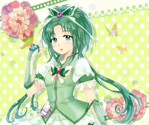 Tags: Anime, Akita Komachi (Pixiv3139843), Yes! Precure 5, Cure Mint, Akimoto Komachi, Pixiv, Fanart From Pixiv, Fanart