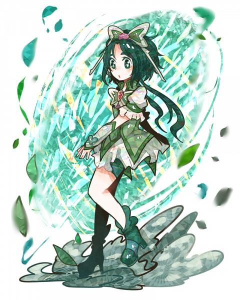 Tags: Anime, Ringetsumon, Yes! Precure 5, Cure Mint, Akimoto Komachi, Fanart From Pixiv, Fanart, Pixiv