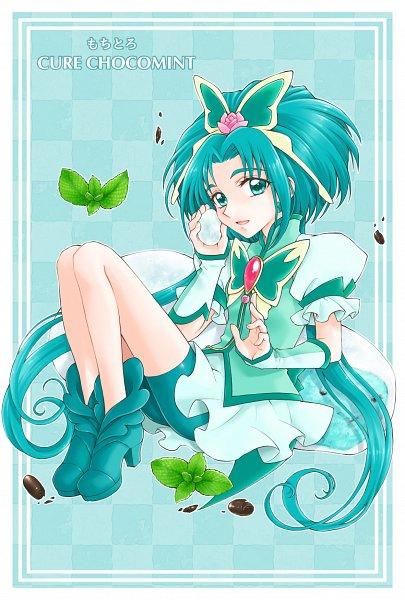 Tags: Anime, Pixiv Id 10336702, Yes! Precure 5, Cure Mint, Akimoto Komachi, Green Shorts, Green Footwear, Twitter, Fanart From Pixiv, Fanart, Pixiv
