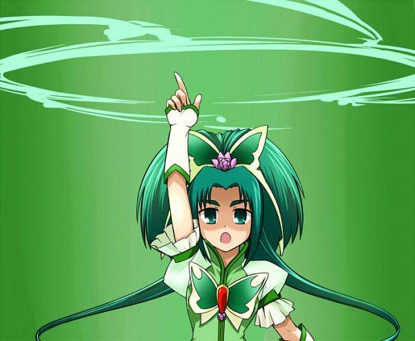 Tags: Anime, Kumataka, Yes! Precure 5, Cure Mint, Akimoto Komachi, Pixiv, Fanart From Pixiv, Fanart