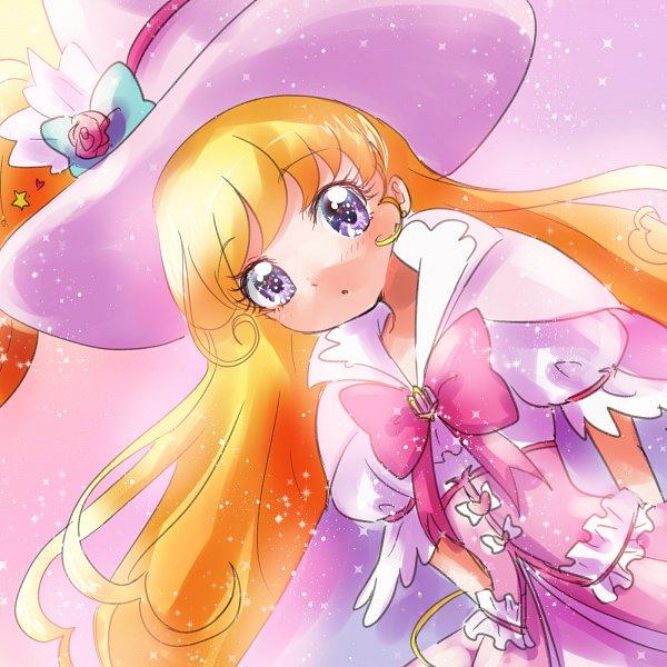 Tags: Anime, Pixiv Id 1706251, Mahou Tsukai Precure!, Asahina Mirai, Cure Miracle, Alexandrite Style, Twitter, Fanart From Pixiv, Pixiv, Fanart