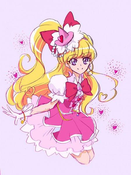 Tags: Anime, Fpminnie1, Mahou Tsukai Precure!, Asahina Mirai, Cure Miracle, Twitter, Fanart