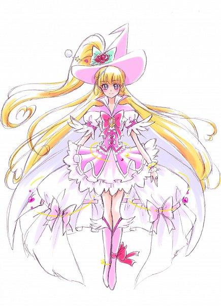Tags: Anime, Fpminnie1, Mahou Tsukai Precure!, Cure Miracle, Asahina Mirai, Twitter, Alexandrite Style, Fanart