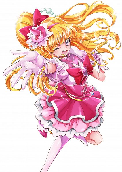 Tags: Anime, Sharumon, Mahou Tsukai Precure!, Asahina Mirai, Cure Miracle, Twitter, Fanart From Pixiv, Pixiv, Fanart
