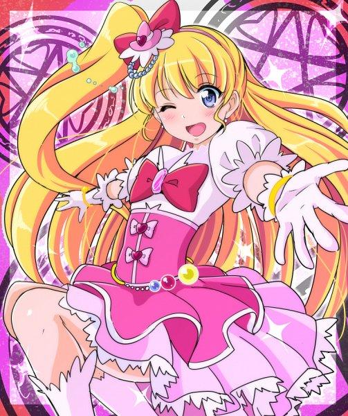 Tags: Anime, Reki (Pixiv Id 180006), Mahou Tsukai Precure!, Asahina Mirai, Cure Miracle, Fanart, Fanart From Pixiv, Pixiv