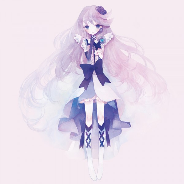 Tags: Anime, Pechika, Heartcatch Precure!, Tsukikage Yuri, Cure Moonlight, Pixiv, Fanart, Fanart From Pixiv