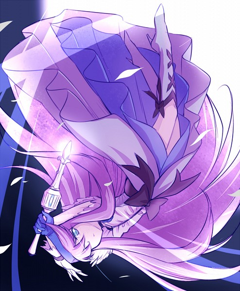 Tags: Anime, Arakawa Tarou, Heartcatch Precure!, Tsukikage Yuri, Cure Moonlight, Pixiv, Fanart From Pixiv, Fanart