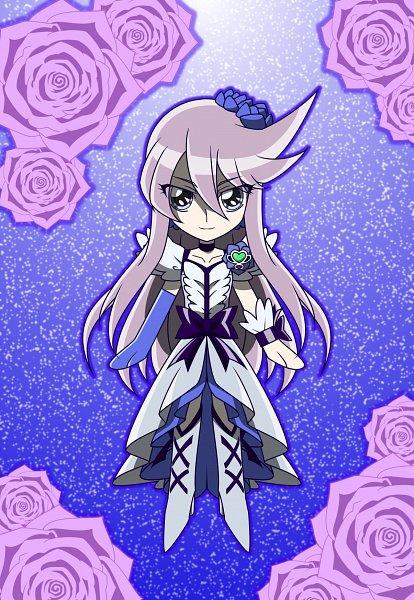 Tags: Anime, MT2Y-Monyo, Heartcatch Precure!, Tsukikage Yuri, Cure Moonlight, Purple Handwear, Fanart, Fanart From Pixiv, Pixiv