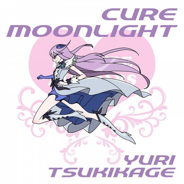Tags: Anime, Eunos, Heartcatch Precure!, Cure Moonlight, Tsukikage Yuri, Fanart From Pixiv, Pixiv, Fanart