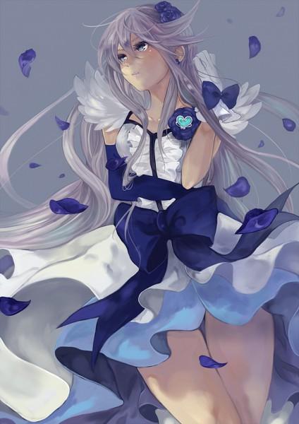 Tags: Anime, Pisuke, Heartcatch Precure!, Tsukikage Yuri, Cure Moonlight, Mobile Wallpaper, Pixiv