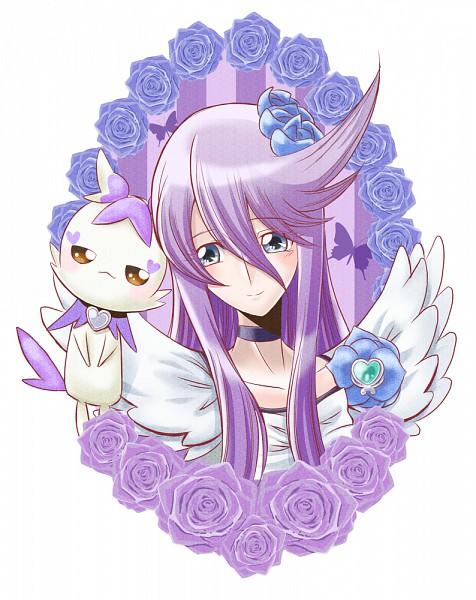 Tags: Anime, Mahkn, Heartcatch Precure!, Cure Moonlight, Cologne (Pretty Cure), Tsukikage Yuri, Pixiv, Fanart