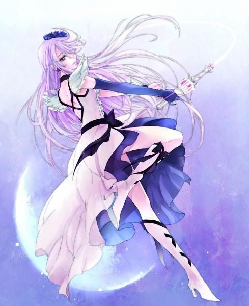 Tags: Anime, Chiyo (Rotsurechiriha), Heartcatch Precure!, Tsukikage Yuri, Cure Moonlight, Fanart From Pixiv, Fanart, Pixiv