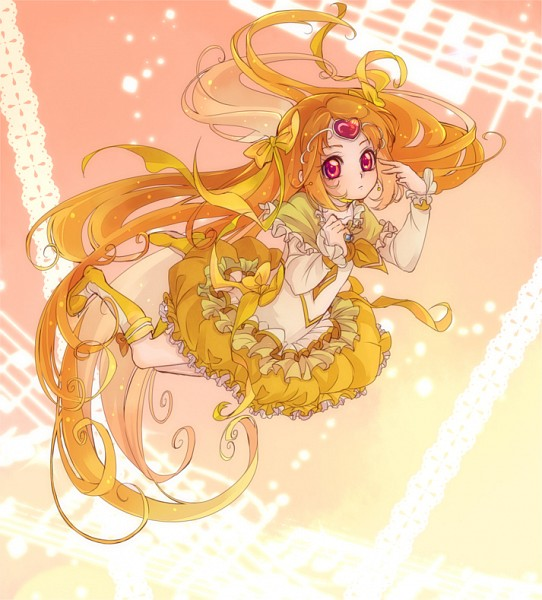Tags: Anime, Kamabo Ko, Suite Precure♪, Cure Muse, Shirabe Ako, Puffy Skirt, Fanart, Fanart From Pixiv, Pixiv