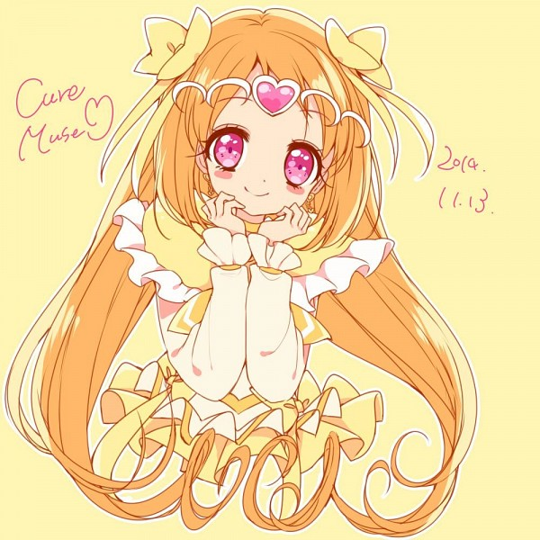 Tags: Anime, Uduki Shi, Suite Precure♪, Cure Muse, Shirabe Ako, Twitter, Fanart