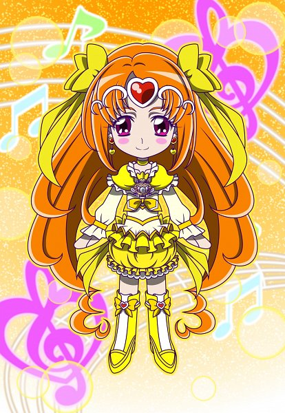 Tags: Anime, MT2Y-Monyo, Suite Precure♪, Cure Muse, Shirabe Ako, Yellow Footwear, Pixiv, Fanart, Fanart From Pixiv