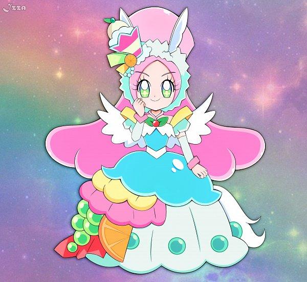 Tags: Anime, Pixiv Id 53117727, Kirakira☆Precure a la Mode, Kirahoshi Ciel, Cure Parfait, Fanart, Fanart From Pixiv, Pixiv