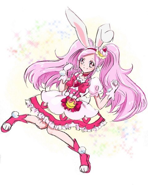 Tags: Anime, Fpminnie1, Fresh Precure!, Cure Passion, Higashi Setsuna, Cure Whip (Cosplay), Twitter, Fanart