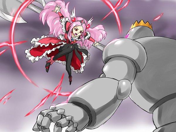 Tags: Anime, Pixiv Id 3411146, Fresh Precure!, Cure Passion, Higashi Setsuna, Fanart From Pixiv, Fanart, Pixiv