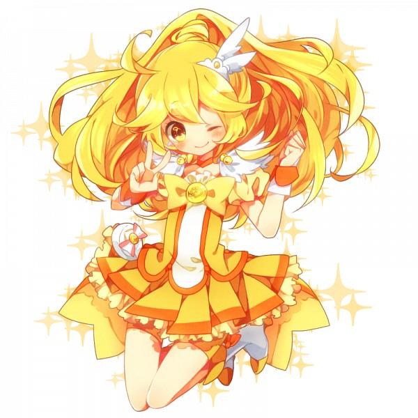 Tags: Anime, Shimogu, Smile Precure!, Kise Yayoi, Cure Peace, Fanart From Pixiv, Pixiv, Fanart