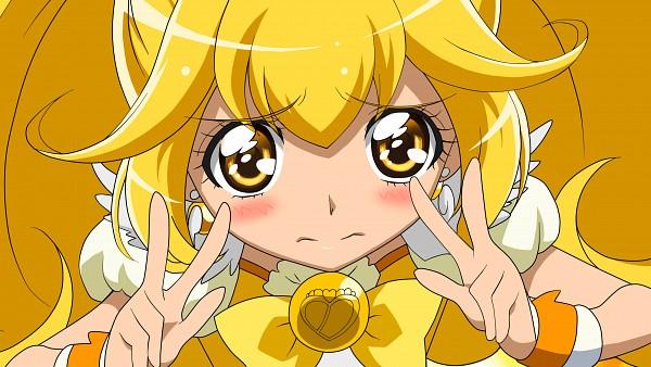 Tags: Anime, Pixiv Id 1704605, Smile Precure!, Kise Yayoi, Cure Peace, Fanart, HD Wallpaper, Fanart From Pixiv, Pixiv, Wallpaper, Vector
