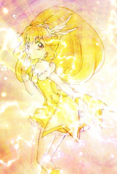Tags: Anime, Pixiv Id 10336702, Smile Precure!, Kise Yayoi, Cure Peace, Fanart, Fanart From Pixiv, Twitter, Pixiv