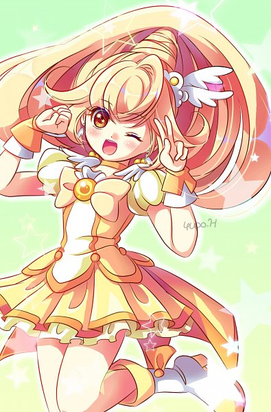Tags: Anime, Pixiv Id 661664, Smile Precure!, Cure Peace, Kise Yayoi, Fanart, Fanart From Pixiv, Pixiv