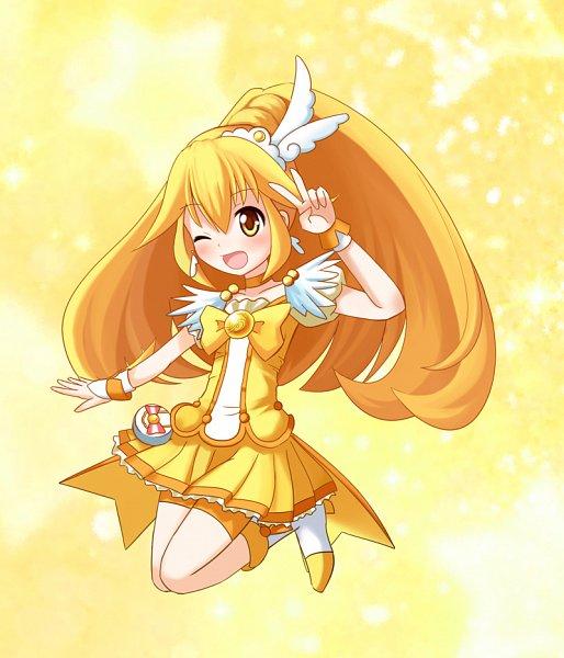 Tags: Anime, Pixiv Id 161667, Smile Precure!, Kise Yayoi, Cure Peace, Fanart From Pixiv, Pixiv, Fanart
