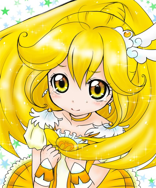 Tags: Anime, Pixiv Id 1608718, Smile Precure!, Kise Yayoi, Cure Peace, Fanart From Pixiv, Pixiv, Fanart
